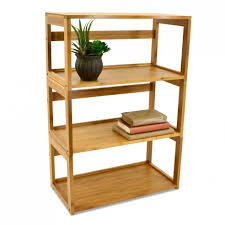 Stacking Bookcase Bamboo Stacking Bookshelf Storables