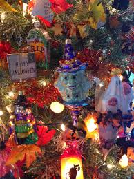 Halloween Tree With Ornaments Halloween Trees They Re More Than Just Christmas Trees With