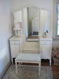 Antique Vanity Table With Mirror And Bench Vanities White Antique Vanity Desk White Vintage Dressing Table