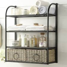 Bathroom Storage Racks Laurel Foundry Modern Farmhouse Kiowa Hanging Storage Rack With