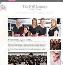 beauty salon website design webjuritsu website design