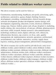 Sample Resume For Child Care by Sample Resume Qualified Childcare Worker