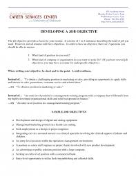 Best Job Objective For Resume by Awesome Career Objective For Marketing Resume Resume Format Web