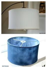 Lamp Shades Diy Diy Gold Leaf Lamp Shade U2022 Craft Thyme