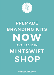 brand design for nicole stewart mintswift