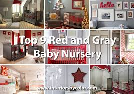 Nursery Decorating Top 9 Nursery Decorating Ideas In And Gray Interiors By Color