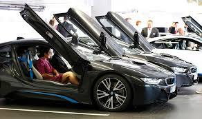 bmw hybrid sports car bmw i8 in hybrid sports car delivered 7 chinadaily com cn