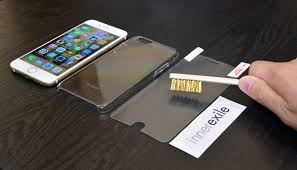watch this iphone screen protector heal scratches within a second
