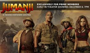 amazon prime members get early access to new jumanji movie