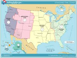 usa map kansas state list of u s states by time zone simple the