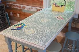 Kitchen Table Top Ideas by Eleven Ways To Update And Makeover An Outdated Or Damaged Dining Table