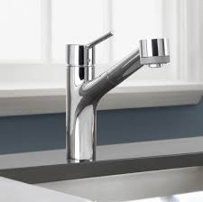 hansgrohe 06462860 steel optik talis s pull out kitchen faucet