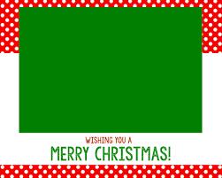 card christmas card template