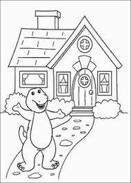 Backyard Fireworks Barney Backyard Gang by Printable Barney Coloring Pages For Kids Whanco Mylittlesweet