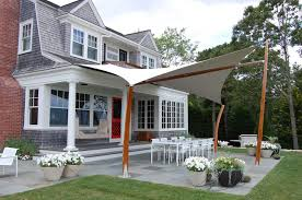 Side Awnings Project Spotlight Tension Awning In Nonquit Ma