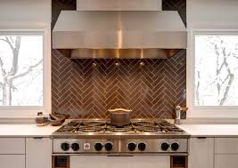 kitchen backsplash colors kitchen backsplashes dazzle with their herringbone designs