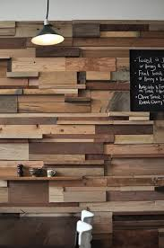 recycled wood block wall a bit irregular still looking for a