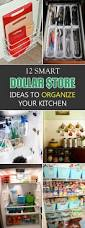 how to organize your kitchen counter 12 smart dollar store ideas to organize your kitchen dollar