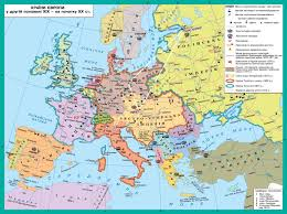 Countries Of Europe Map by The Countries Of Europe During The Second Half Of Xix Early Xx