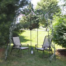 Wedding Arch Kmart Cobraco 3 Sided Arch Arbor Outdoor Living Patio Furniture