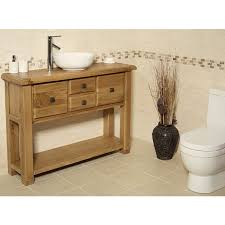Oak Bathroom Cabinet Ohio Rustic Oak Bathroom Cabinet Click Oak