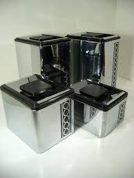 vintage metal kitchen canisters 565 best vintage kitchen canister sets images on