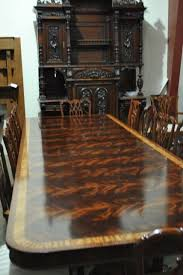 Mahogany Dining Table Made Flaming Mahogany Dining Table Over 13 Ft Long 15000 Retail