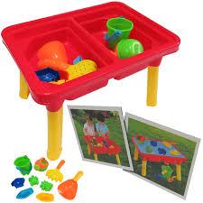 rectangular sand u0026 water table desk play moulds kids toy game u2013 comxuk