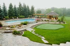 Modern Back Yard Backyard Landscape Design Decorating The Space Amaza Design