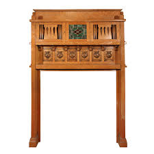 incredible antique arts u0026 crafts quarter sawn oak mantel with