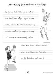 handwriting conventions victoria teachers 4 teachers