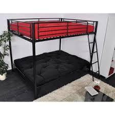 lit mezzanine 2 places avec canapé lit mezzanine avec banquette achat vente pas cher
