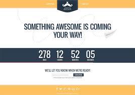 10 premium website coming soon html templates