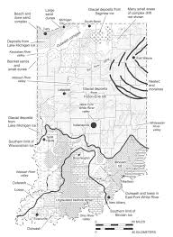Map Indiana Indiana U0027s Geologic Processes