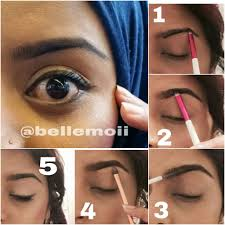 How To Do Eyebrow How To Make Your Eyebrows On Fleek Without Makeup Mugeek Vidalondon