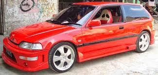 mobil honda civic gambar modifikasi keren mobil honda civic tahun 90an 2016 tscribbles