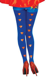 supergirl halloween costumes dc women u0027s supergirl tights