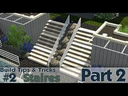 house building tips the sims 3 building tips and tricks 2 stairs part 2 youtube