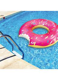 amazon com bigmouth inc gigantic donut pool float strawberry