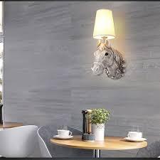 Leuchten Wohnzimmer Landhausstil Online Kaufen Großhandel Pferd Kopf Lampe Aus China Pferd Kopf