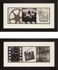 movie reel wall decor ideas design ideas and decor