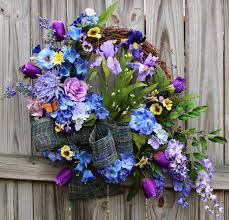Beautiful Purple Motifs Irish U0027s Wreaths Where The Difference Is In The Details