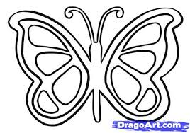 5 how to draw a simple butterfly