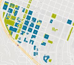Portland Parking Map Portland State Floorplans Campus Map