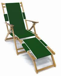 Monogrammed Lawn Chairs Frankford Oak Beach Chair With Detachable Legrest