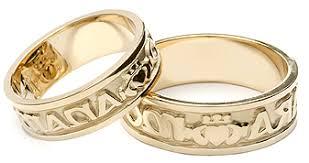 Irish Wedding Rings by Mens Celtic Wedding Rings Celtic Wedding Bands