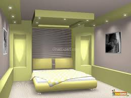 Teenage Bedroom Wall Colors - white leather headboard bed green fur rug small bedroom interior