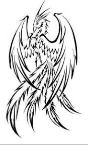 coloring pages outstanding easy draw phoenix coloring pages
