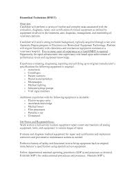 Veterinarian Resume Examples Biomedical Engineering Resume Resume For Your Job Application
