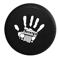 jeep wrangler sahara logo jeep wave handprint grill wrangler club jeep rv camper spare